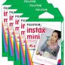 5 Packs FujiFilm Fuji Instax Mini Film, 50 Instant Photos Polaroid 7S 8 25 50S 70 X122