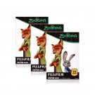 3 Packs Disney ZOOTOPIA FujiFilm Fuji Instax Mini Film, 30 Photos Polaroid 7S 8 25 50S 70 X344