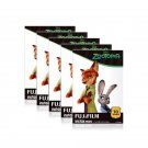5 Packs Disney ZOOTOPIA FujiFilm Fuji Instax Mini Film, 50 Photos Polaroid 7S 8 25 50S 70 X344