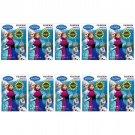 10 Packs Disney Frozen FujiFilm Fuji Instax Mini Film, 100 Photos Polaroid 7S 8 25 50S 70 X346