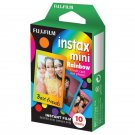 1 Pack Rainbow FujiFilm Fuji Instax Mini Film, 10 Photos Polaroid 7S 8 25 70 X149