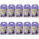 10 Packs Disney Alice in Wonderland FujiFilm Fuji Instax Mini Film, 100 Photos Polaroid 7S 8 70 X234