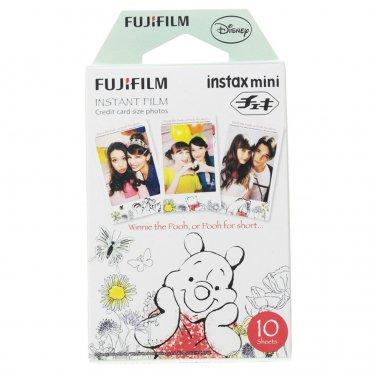 1 Pack Winnie The Pooh FujiFilm Fuji Instax Mini Film, 10 Photos Polaroid 7S 8 25 70 X235