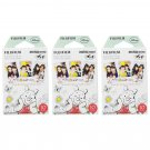 3 Packs Winnie The Pooh FujiFilm Fuji Instax Mini Film, 30 Photos Polaroid 7S 8 70 X235