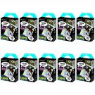 10 Packs Comic FujiFilm Fuji Instax Mini Film, 100 Photos Polaroid 7S 8 70 X237