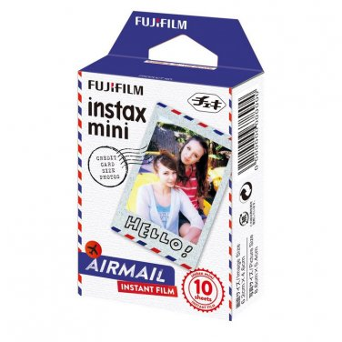 1 Pack Airmail FujiFilm Fuji Instax Mini Film, 10 Photos Polaroid 7S 8 25 70 X282