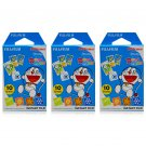3 Packs Doraemon Four Seasons FujiFilm Fuji Instax Mini Film, 30 Photos Polaroid 7S 8 25 70 X343