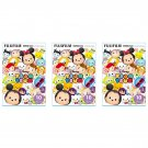 3 Packs Tsum Tsum 2016 FujiFilm Fuji Instax Mini Film, 30 Photos Polaroid 7S 8 25 70 X350