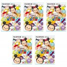 5 Packs Tsum Tsum 2016 FujiFilm Fuji Instax Mini Film, 50 Photos Polaroid 7S 8 25 70 X350