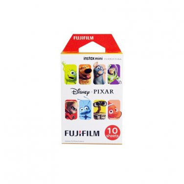 1 Pack Disney PIXAR FujiFilm Fuji Instax Mini Film, 10 Photos Polaroid 7S 8 25 50S 70 X327