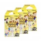 3 Packs Looney Tunes FujiFilm Instax Mini, 30 Photos Polaroid 7S 8 25 70 X330