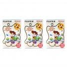 3 Packs Pixar Toy Story 2015 FujiFilm Instax Mini, 30 Photos Polaroid 7S 8 25 70 X333