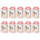 10 Packs Sanrio My Melody 2015 FujiFilm Instax Mini, 100 Photos Polaroid 7S 8 25 70 X339
