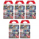 5 Packs One Piece 2015 FujiFilm Instax Mini Film, 50 Photos Polaroid 7S 8 25 70 X340