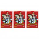 3 Packs Looney Tunes That's all folks! FujiFilm Instax Mini, 30 Photos Polaroid 7S 8 25 70 X342