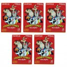 5 Packs Looney Tunes That's all folks! FujiFilm Instax Mini Film, 50 Photos Polaroid 7S 8 25 70 X342