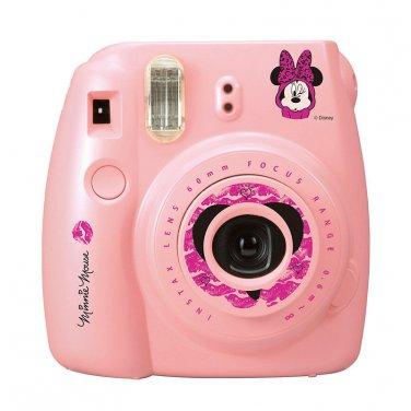 Pink Disney Minnie Mouse FujiFilm Fuji Instax Mini 8 Instant Photos Films Polaroid Camera