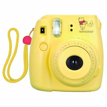 Yellow Colour Winnie The Pooh FujiFilm Fuji Instax Mini 8 Instant Photos Films Polaroid Camera