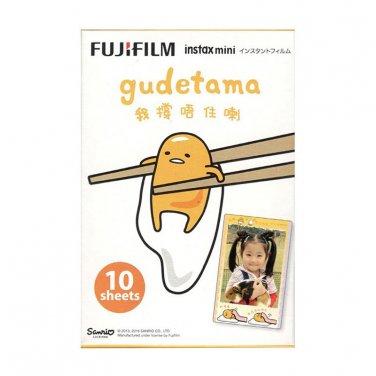 1 Pack Sanrio Gudetama Egg FujiFilm Instax Mini, 10 Photos Polaroid 7S 8 25 50S 70 X351