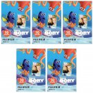 5 Packs Disney Pixar Finding Dory FujiFilm Instax Mini Film, 50 Photos Polaroid 7S 8 25 70 X355