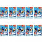 10 Packs Disney Pixar Finding Dory FujiFilm Instax Mini, 100 Photos Polaroid 7S 8 25 70 X355