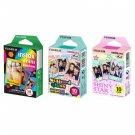 Rainbow & Stained Glass & Shiny Star FujiFilm Instax Mini, 30 Photos Polaroid 7S 8 25 70 90
