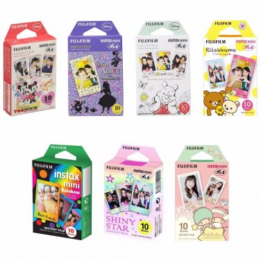 7 Packs Value Set FujiFilm Instax Mini 70 Photos Polaroid 7S 8 25 70 90