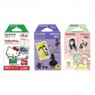 Hello Kitty & Alice & Little Twin Stars FujiFilm Instax Mini, 30 Photos Polaroid 7S 8 25 70 90