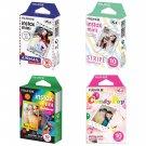 Airmail & Stripe & Rainbow & Candy Pop FujiFilm Instax Mini, 40 Photos Polaroid 7S 8 25 70 90