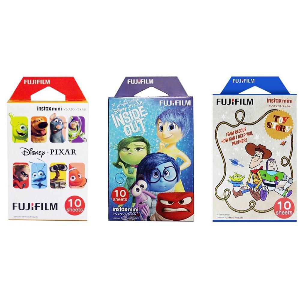 Pixar & Inside Out & Toy Story FujiFilm Instax Mini Instant 30 Photos Polaroid 7S 8 25 70 90