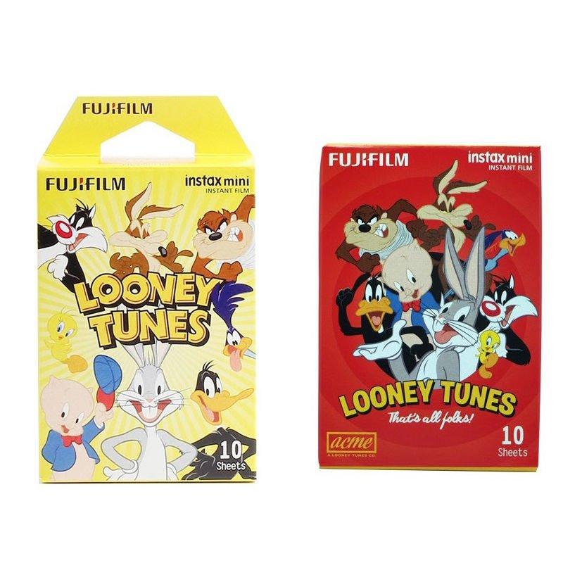 Looney Tunes Value Set FujiFilm Instax Mini Instant 20 Photos Polaroid 7S 8 25 70 90