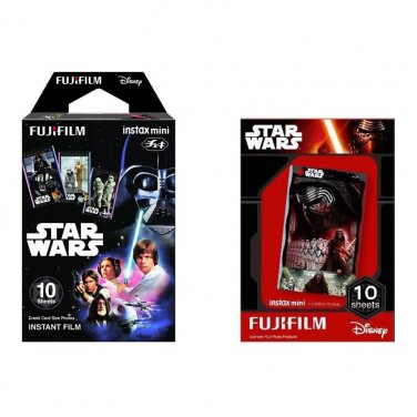 Star Wars Value Set FujiFilm Instax Mini Instant 20 Photos Polaroid 7S 8 25 70 90