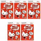 5 Packs Hello Kitty So cute! FujiFilm Instax Mini, 50 Photos Polaroid 7S 8 25 50S 70 X354