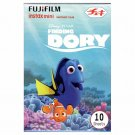 1 Pack Disney Pixar Finding Dory 2nd FujiFilm Instax Mini 10 Photos Polaroid 7S 8 25 50S 70 X356
