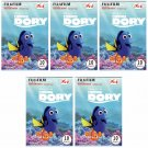 5 Packs Disney Pixar Finding Dory 2nd FujiFilm Instax Mini 50 Photos Polaroid 7S 8 25 50S 70 X356