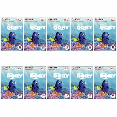 10 Packs Disney Pixar Finding Dory 2nd FujiFilm Instax Mini 100 Photos Polaroid 7S 8 25 50S 70 X356