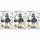 3 Packs Alice in Wonderland Curiouser FujiFilm Instax Mini 30 Photos Polaroid 7S 8 25 50S 70 90 X360