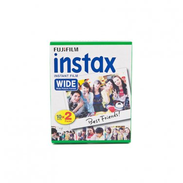 1 Pack 20 Instant Photos Fuji FujiFilm Instax Wide Film Polaroid Camera 200 210 X296