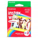 1 Pack 20 Rainbow Instant Photos Fuji FujiFilm Instax Wide Film Polaroid Camera 200 210 X353