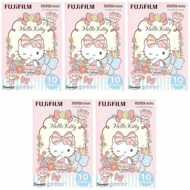 5 Packs Sanrio Hello Kitty 2016 2ND FujiFilm Instax Mini 50 Photos Polaroid 7S 8 25 50S 70 90 X361