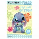 1 Pack 10 Photos Disney Lilo and Stitch FujiFilm Instax Mini Film Polaroid X380
