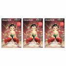 3 Packs 30 Photos Astro Boy FujiFilm Instax Mini Film Polaroid X382