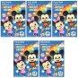 5 Packs 50 Photos Disney Mickey Minnie FujiFilm Fuji Instax Mini Film Polaroid X392