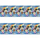 10 Packs 100 Photos Disney Mickey Minnie FujiFilm Fuji Instax Mini Film Polaroid X392