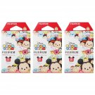 3 Packs 30 Photos Disney Tsum Tsum FujiFilm Fuji Instax Mini Film Polaroid 7S 8 X394