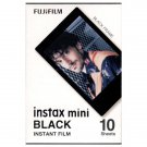 1 Pack 10 Photos Black Frame FujiFilm Fuji Instax Mini Film Polaroid 7S SP-1 X395