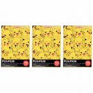 3 Packs 30 Photos Pokemon Pikachu FujiFilm Fuji Instax Mini Film Polaroid SP-2 X397