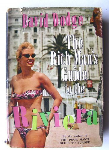 Rare 1st Edition of David Lodge's THE RICH MAN'S GUIDE TO THE RIVIERA 1962