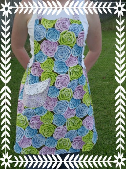 Girley Girl Design Apron