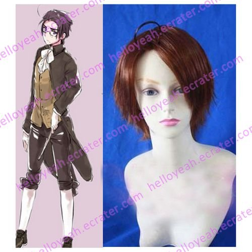 Axis Powers Austria Cosplay wig
